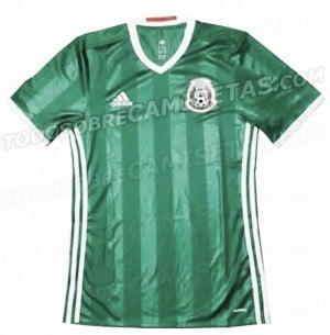 El 'Tri' volvería a vestir de verde