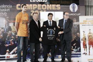 Valencia Basket presenta el Tranvía de los Tricampeones