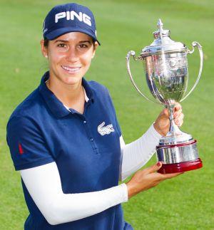 Azahara Muñoz conquista el Lacoste Ladies Open de Francia