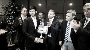 La Rosaleda celebra el trofeo a mejor estadio de la Liga BBVA
