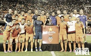 Fotos e imágenes del Valencia 2-1 Milan. Trofeo Naranja