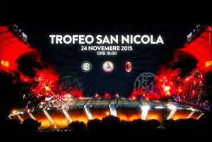 Trofeo San Nicola - Parteciperanno Bari, Milan ed Inter: i dettagli