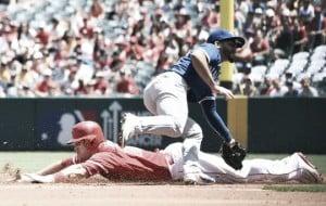 Score Los Angeles Angels vs Toronto Blue Jays in MLB 2017 (2-1)