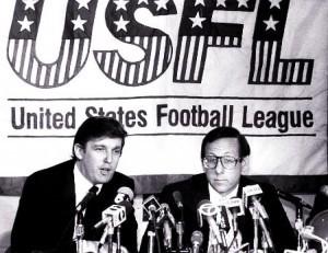 El día que Trump destrozó una liga de fútbol
