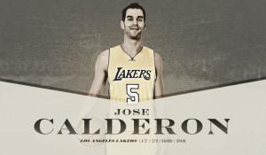 """Calderon: """"Siempre es bueno ser jugador de los Lakers"""""""