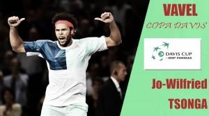Copa Davis 2017. Jo-Wilfried Tsonga: el heredero de Noah busca su primera ensaladera