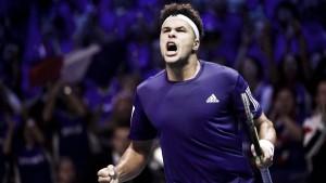 Copa Davis: Goffin e Tsonga confirmam favoritismo e primeiro dia da final termina empatado