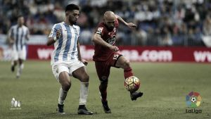Tighadouini y Juan Carlos se estrenaron con el Málaga CF