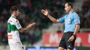 Álvarez Izquierdo arbitrará el Elche – Deportivo