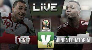 Resultado Túnez vs Guinea Ecuatorial en vivo (1-2)
