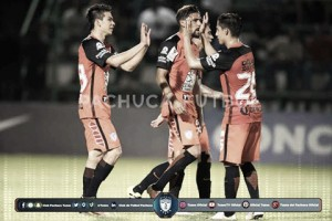 Pachuca humilla once veces al Police United