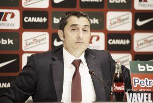 """Valverde: """"El Villarreal no nos lo va a poner fácil"""""""