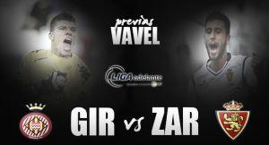 Girona - Real Zaragoza: Zaragoza nunca se rinde