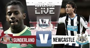 Result Sunderland - Newcastle United in EPL 2015 (3-0)