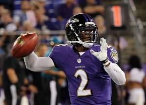 Los Ravens remontan a los Falcons en el mejor partido del día jueves.