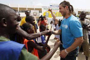 Sergio Ramos fue nombrado embajador UNICEF