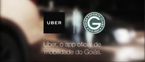 Com promoções para a torcida, Goiás anuncia parceria com a Uber até o final da temporada