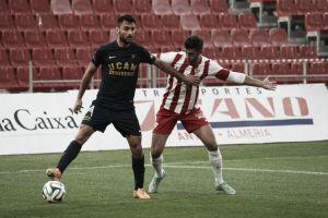 Resultado Almería B vs UCAM Murcia en Segunda B 2015 (0-2)