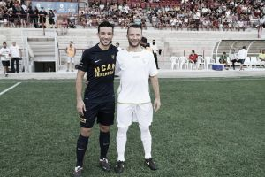 El UCAM Murcia CF logra su primera victoria de la temporada frente al Lucena