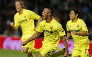 Un postrero gol de Uche consolida al Villarreal en el cuarto puesto
