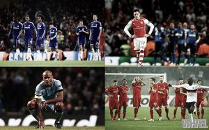 Los equipos ingleses no han logrado brillar en Europa