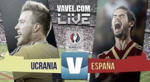 Resultado Ucrania vs España en fase de Clasificación Eurocopa 2016 (0-1)