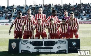 UD Almería - Real Zaragoza: puntuaciones Almería, jornada 23 de la Liga Adelante
