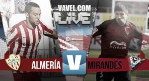 En vivo: Almería vs Mirandés en directo online en Liga Adelante 2016