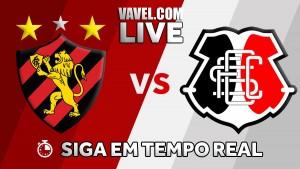 Jogo Sport x Santa Cruz AO VIVO online no Campeonato Pernambucano 2018 (0-0)