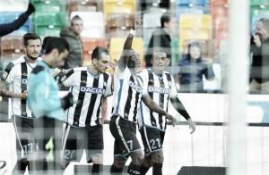 L'aeroplanino non decolla: La Samp cade al Friuli 1-0