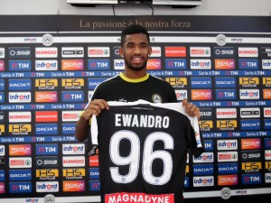 Udinese, si ferma anche Ewandro