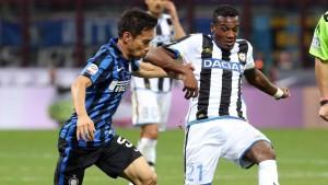 Udinese-Inter, le formazioni ufficiali