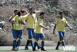 Fotos e imágenes del Las Palmas At. 3-0 Trival Valderas, de la jornada 6 del Grupo II de Segunda División B