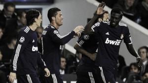El último encuentro entre Tottenham y Real Madrid en Londres tuvo color blanco