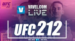 Resultado combate José Aldo x Max Holloway no UFC 212 no Rio