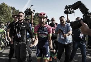 """Diego Ulissi: """"Vine en busca de una victoria y ahora tengo dos, así que estoy muy feliz"""""""