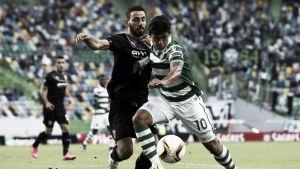 Freddy Montero fue titular en la derrota del Sporting en la Europa League