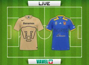 Pumas UNAM - Tigres UANL en vivo online