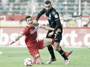 Union Berlin 2-1 FSV Frankfurt: Three points stay in the capital