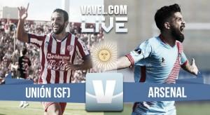 Resultado de Unión de Santa Fe vs Arsenal (0-1)