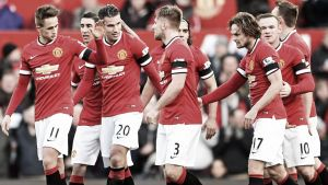 Manchester United at home for the first game of 2015-16