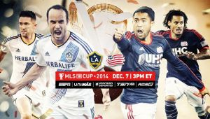 Los Angeles Galaxy - New England Revolution 2014 Live Score ofMLS Cup Final