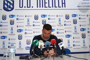 """Pato: """"Por merecimientos el Melilla podía haber ganado el partido y no hubiera pasado nada"""""""