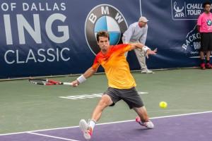 Irving Tennis Classic: Defending Champ Aljaz Bedene Wins Again, Top Seeds Monroe-Qureshi Reach Doubles Final