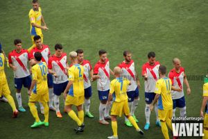 Victoria del CE L'Hospitalet ante el Atlético Baleares
