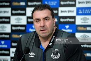 David Unsworth says Everton need a winning manager