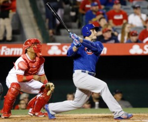 Jon Lester Gets Win Over Los Angeles Angels Behind Three Home Runs From Chicago Cubs