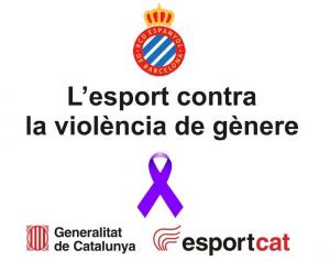 El Espanyol se suma a la lucha contra la violencia de género