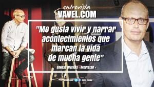 """Entrevista. Ernest Riveras: """"Me gusta vivir y narrar acontecimientos que marcan la vida de mucha gente"""""""