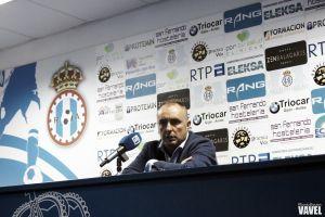 """Josu Uribe: """"Nos ha costado muchísimo llegar a esta situación, queremos seguir"""""""